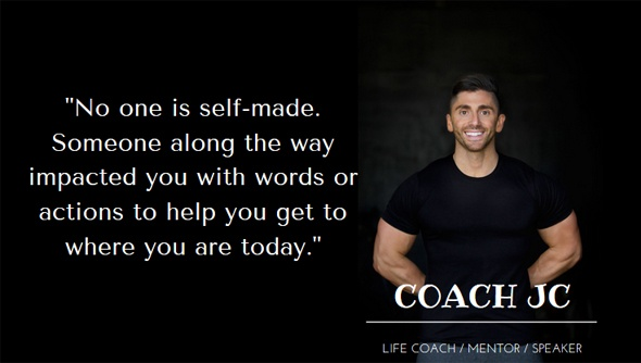 An Interview with Jonathan Conneely Strength Coach, Life Coach, Author and Motivational Speaker