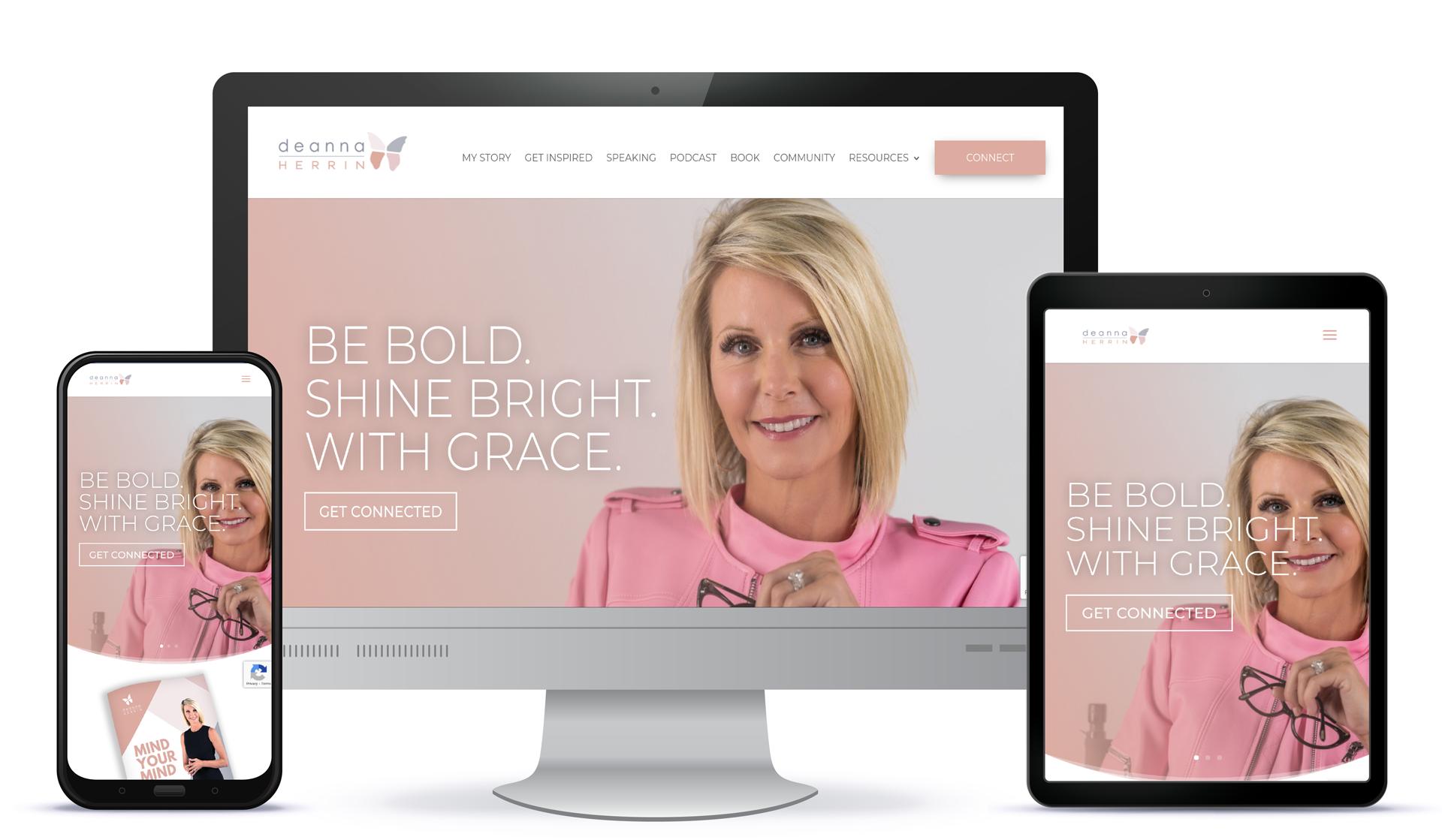 D2 Branding Website Design