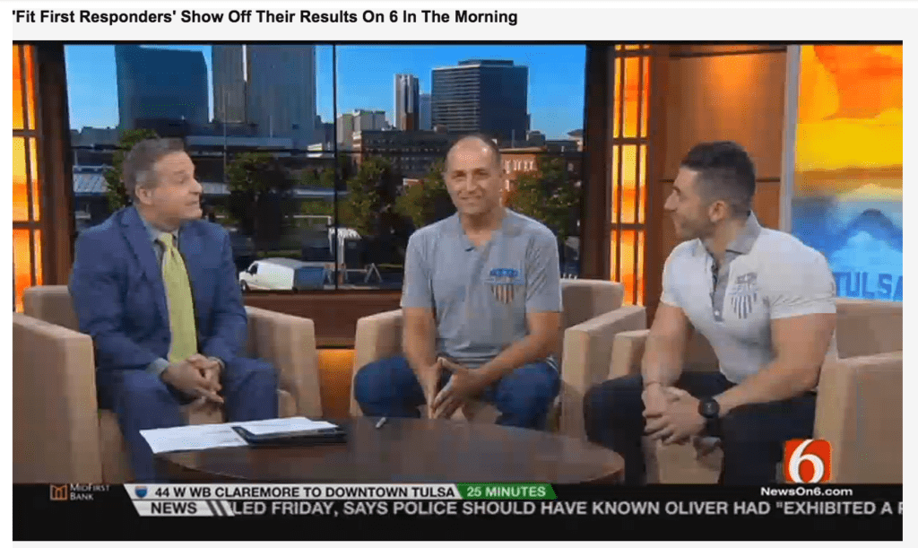 'Fit First Responders' Show Off Their Results On 6 In The Morning