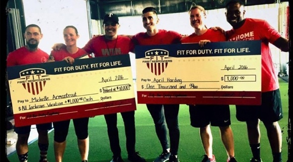TPD announces winners of first responders fitness challenge