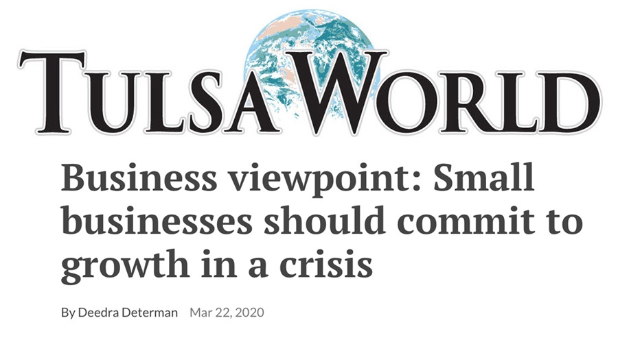 Small Businesses Should Commit to Growth in a Crisis