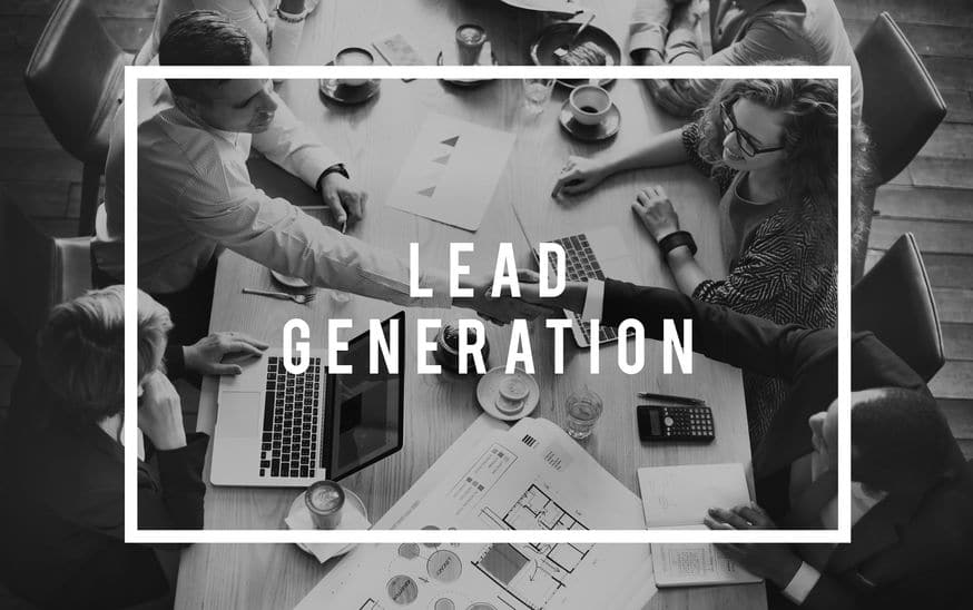 Lead Generation Business Research Interest Concept