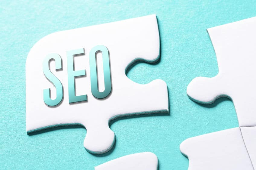 The Word SEO In Missing Piece Jigsaw Puzzle