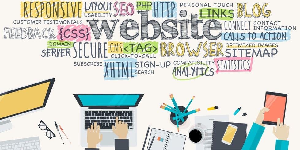 flat design illustration concept for website development. concept for web banner and promotional material.